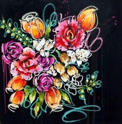 Ash Almonte, 'Black Blossoms', 2015
