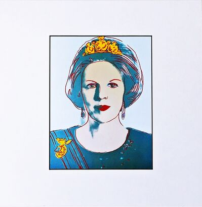 Andy Warhol, 'Konigin Beatrix for Art Basel', 1987