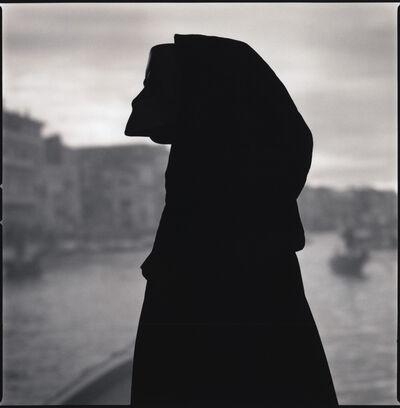 Hiroshi Watanabe, 'Viviana Ceppa with Bauta Mask (Silhouette) ', 2014