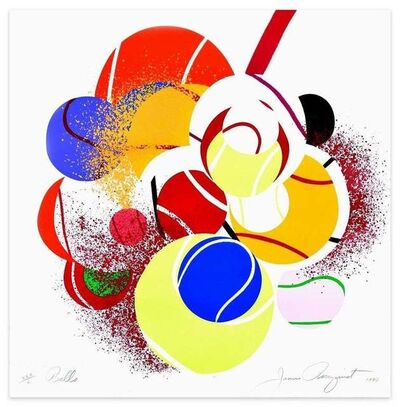 James Rosenquist, 'Balls', 1990