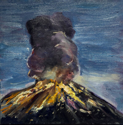 Marcos Castro, 'Estudio de la explosión I [Study of the explosion I]', 2019