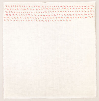 Giorgio Griffa, 'Orizzontale', 1975