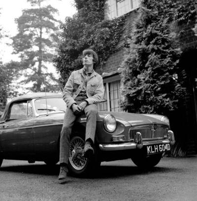 Gered Mankowitz, 'Bill & MGB, London', 1966