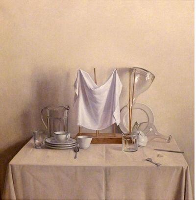 Raymond Han, 'Drying Rack with Napkin and Decanter', 1986