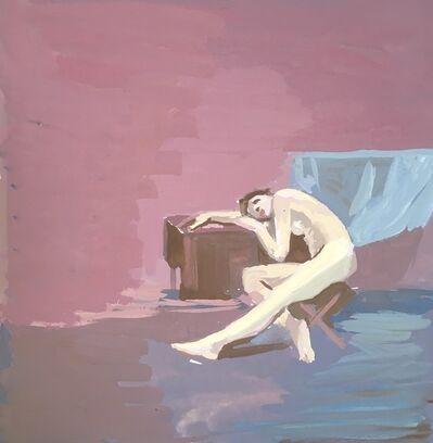 Jillian Denby, 'Study of Woman Sleeping', 1978