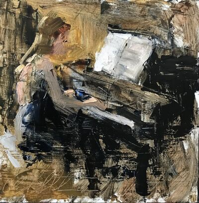 Clyde Steadman, 'Piano means Quiet', 2018
