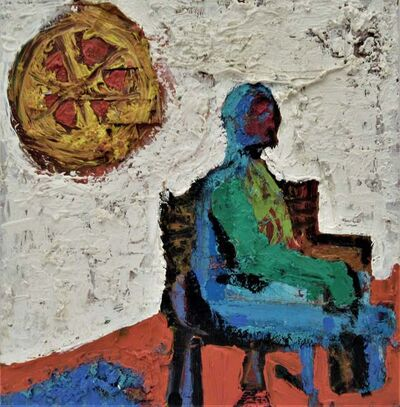 "Enrique Kico Govantes, '""Untitled, Man in a Chair with Sun"" ', ca. 1990"