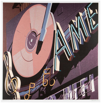 Robert Cottingham, 'American Hi-Fi', 2009