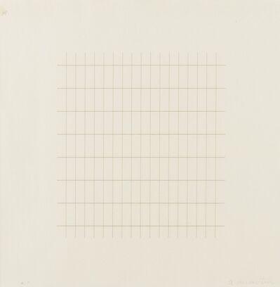 Agnes Martin, 'Untitled', 1973