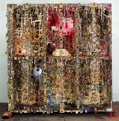 Shinro Ohtake, 'Retina (New Tong of Tangier I)', 1992-1993