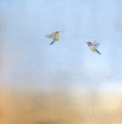 Carolyn Reynolds, 'In Flight Over Blue and Copper II', 2021