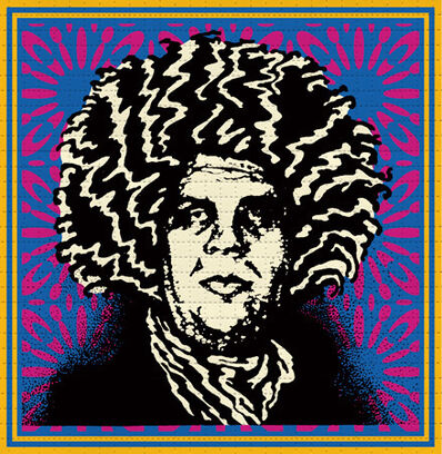Shepard Fairey, 'Psychedelic André', 2020