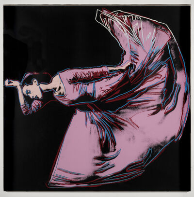Andy Warhol, 'Martha Graham: Letter to the World (The Kick)', 1986