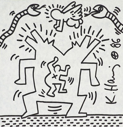 Keith Haring, 'Untitled', 1986