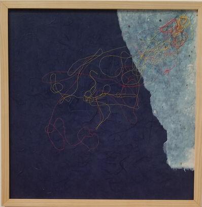 Inkyo Back, 'Mesmerize (blue version)', 2015