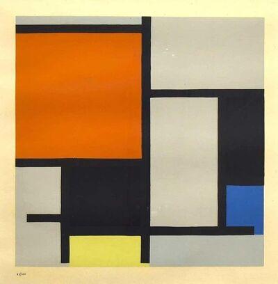 Piet Mondrian, 'Composition', 1953