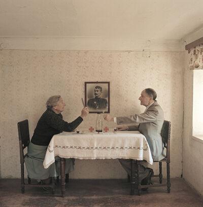 Horst Stasny, 'Tischsitten', 2001