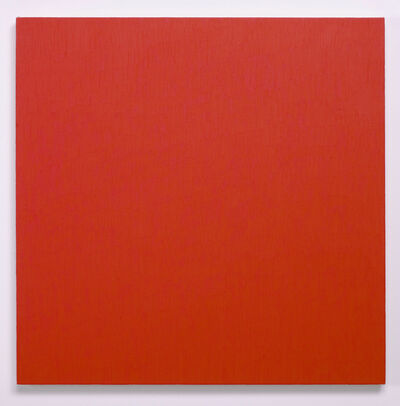 Marcia Hafif, 'Mass Tone Paintings: Cadmium Red Light, 31 July 2, 1974', 1974