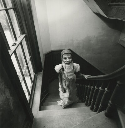 Arthur Tress, 'Girl in Mask', 1975