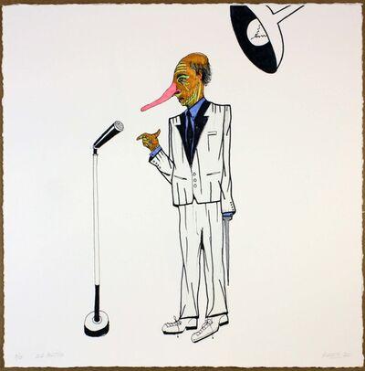 Luis Cruz Azaceta, 'Old Politico', 2011