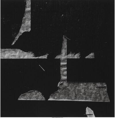 Aaron Siskind, 'New York 18', 1976