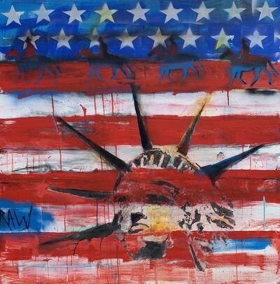 Ronald WICK Wickersham, 'Flag I', 2019