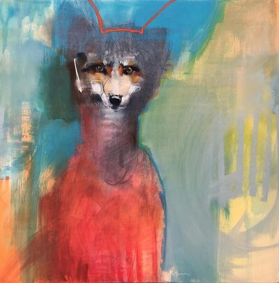 Rebecca Haines, 'Rainy Days and Foxes', 2019