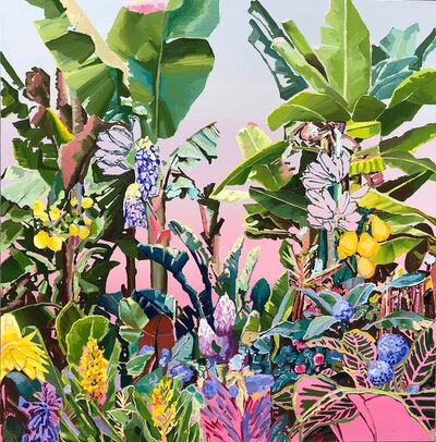 Alejandra Atares, 'Purple garden', 2019
