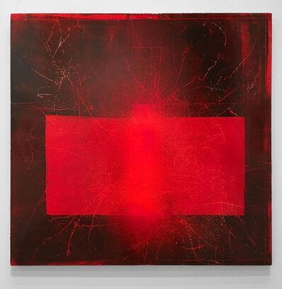 David Mann, 'Red Consonant ', 2018