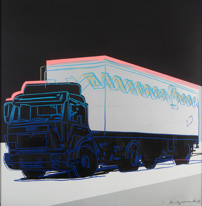 Andy Warhol, 'Truck ', 1985