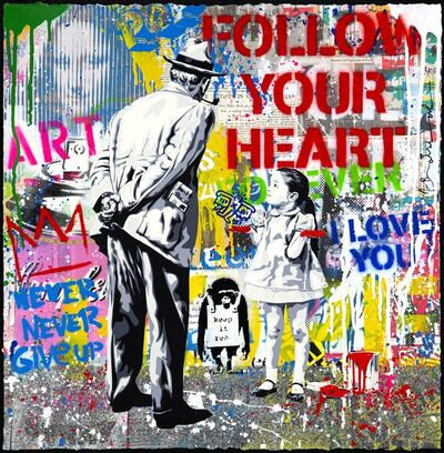 Mr. Brainwash, 'Caught Red Handed', 2020