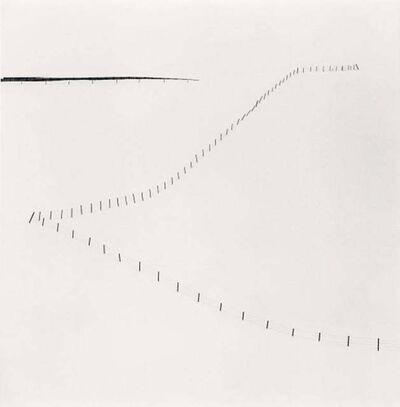 Michael Kenna, 'Hillside Fence, Study 6, Teshikaga, Hokkaido, Japan', 2007