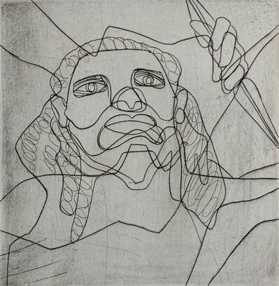 """Stanley William Hayter, 'Head of Zeus, from the """"Death of Hektor"""" Portfolio', 1979"""