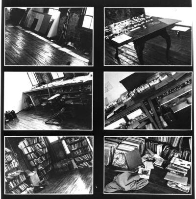 Regina Vater, 'X-Range Vito Acconci / NY', 1976
