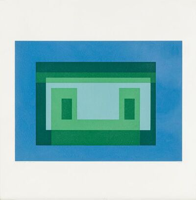 Josef Albers, 'Variant V (from Ten Variants)', 1966