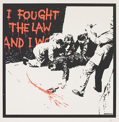 Banksy, 'Banksy 'I Fought the Law' 2004 Print', 2004