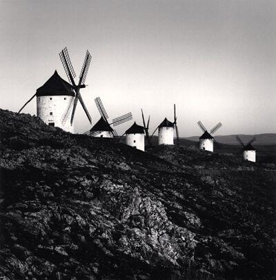 Michael Kenna, 'Don Quixote's Giants, Study 8, Consuegra, La Mancha, Spain', 1996