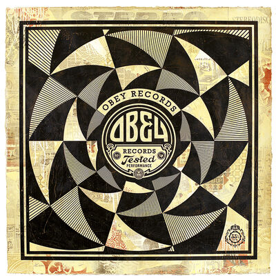 Shepard Fairey, 'Tested Performance', 2013