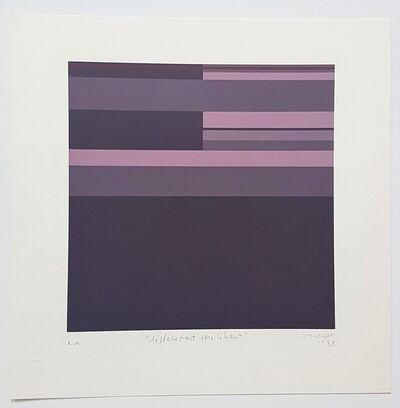Marie-Thérèse Vacossin, 'Geometric Composition', 1978