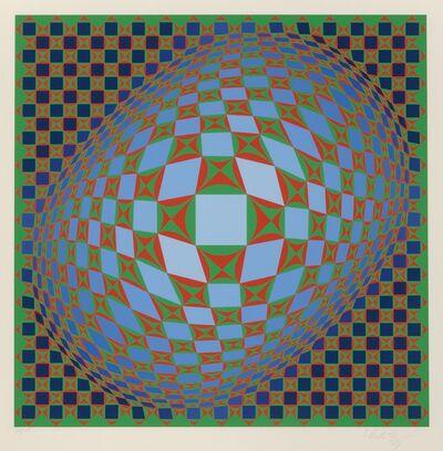 Victor Vasarely, 'Vilag', 1978