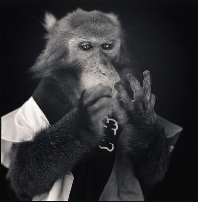 Hiroshi Watanabe, 'Kanpei Counting Fingers, Suo Sarumawashi', 2008
