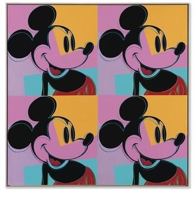 Andy Warhol, 'Quadrant Mickey Mouse'