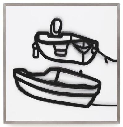 Julian Opie, 'Lenticular Boats 2', 2015
