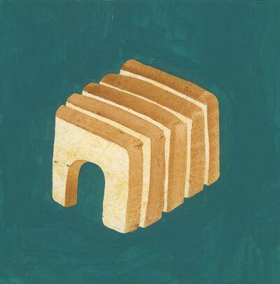 Sandra Wang and Crockett Bodelson SCUBA, 'Arched Sliced Bread', 2015