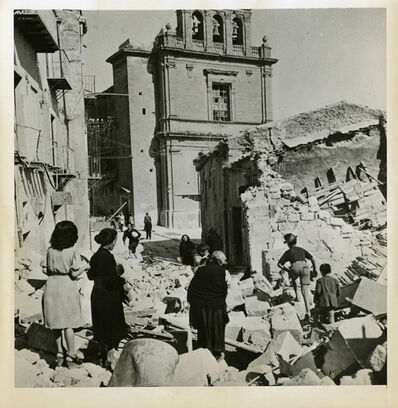 Robert Capa, 'Ruins of Agrigento', 1943