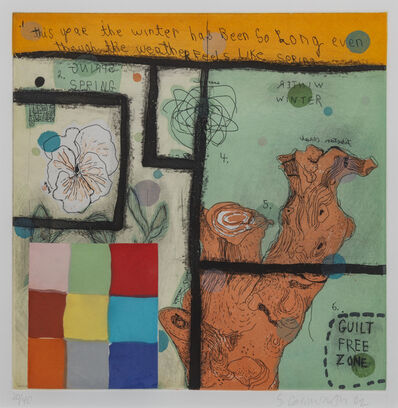 Squeak Carnwath, 'Winter Spring', 2002
