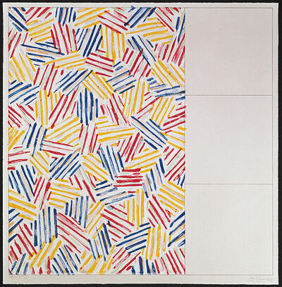 Jasper Johns, '#1 (after Untitled 1975), from 6 lithographs (after Untitled 1975, 1976', 1976