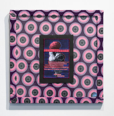 April Bey, 'Paglia's Venus (Purple and Magenta)', 2017