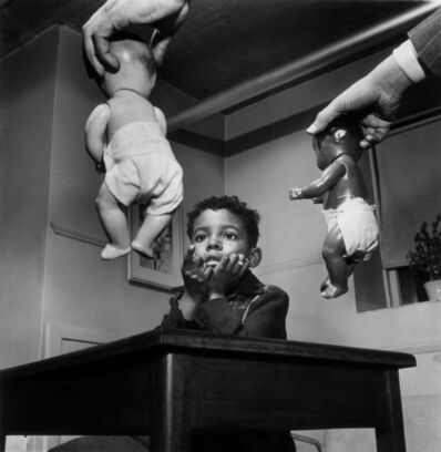Gordon Parks, 'Doll Test, Harlem, New York', 1947