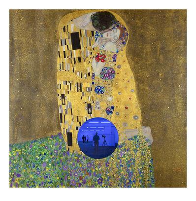 Jeff Koons, 'Gazing Ball (Klimt Kiss)', 2019